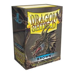 Dragon Shield Brown 100pcs