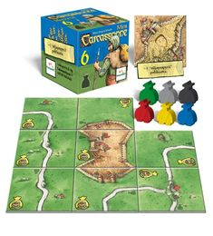 Carcassonne Rosvot (6th mini expansion) (FIN)