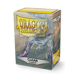 Dragon Shield Clear 100pcs