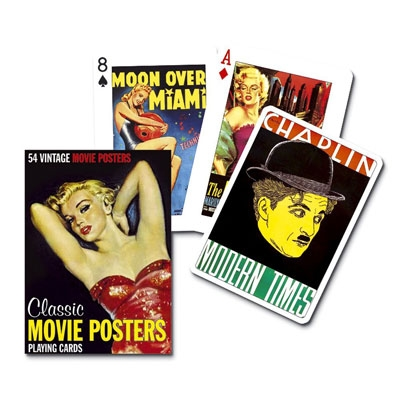 Playing Cards, Classic Movie Posters (Piatnik 1512)