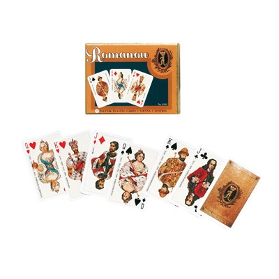 Playing Cards - 2*bridge, Romanow (Piatnik 214141)