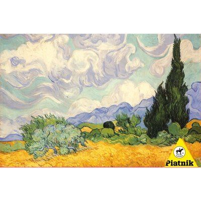 Van Gogh - Wheat Field with Cypress 539145