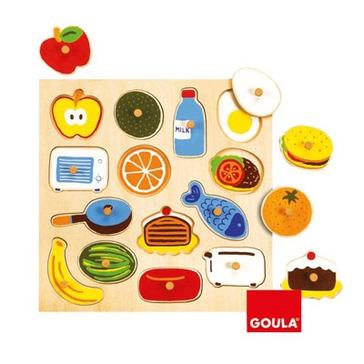 Peg puzzle: Kitchen  (Goula)