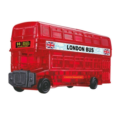 3D Crystal puzzle: London Bus