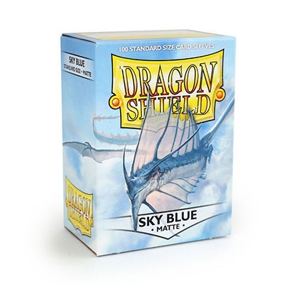 Dragon Shield Matte Sky Blue 100kpl