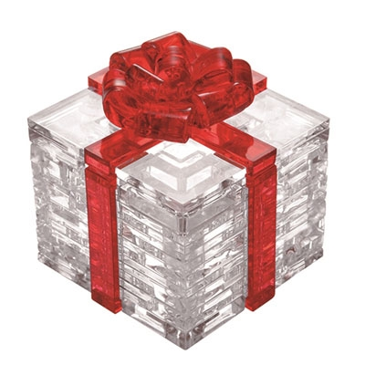 3D Crystal puzzle: Gift Box