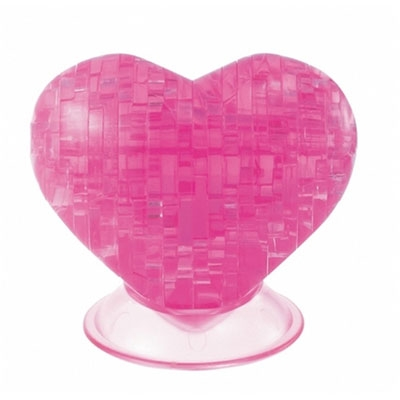 3D Crystal puzzle: Heart