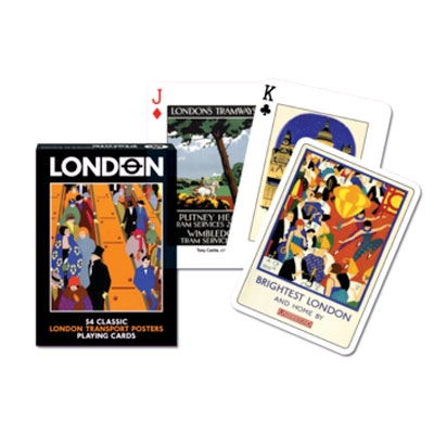 Playing Cards, London Transport Poster (Piatnik 1349)