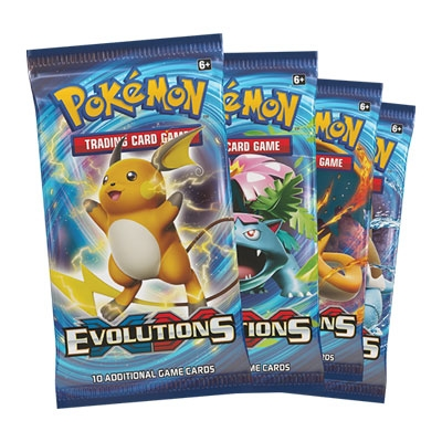 Pokemon: XY12 Evolutions booster