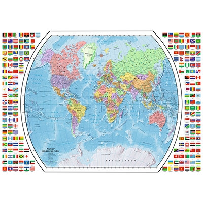 Political World Map 196333