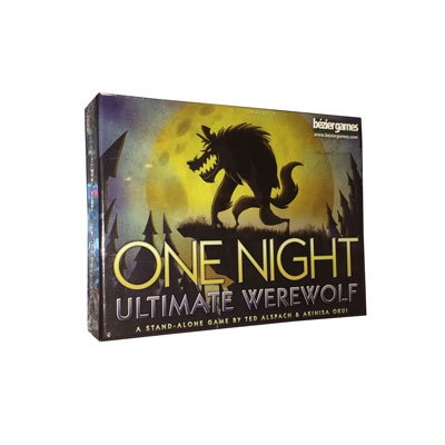 Ultimate Werewolf, one night edition