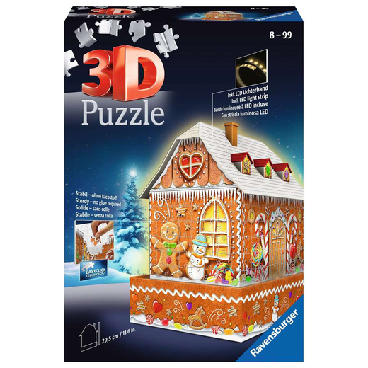 3D Gingerbread House 112371