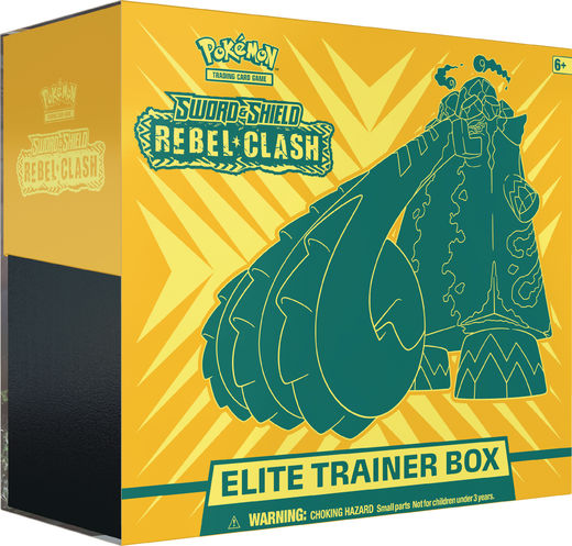 Pokemon: Rebel Clash Elite Trainer Box