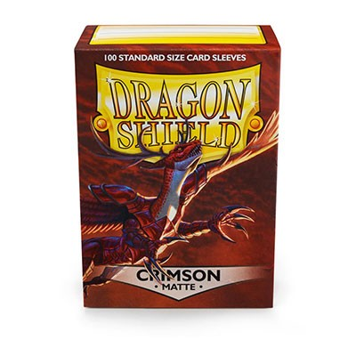 Dragon Shield Crimson 100kpl