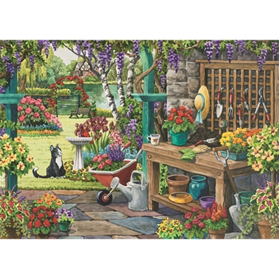 Falcon - Garden in Bloom 11139, large pieces