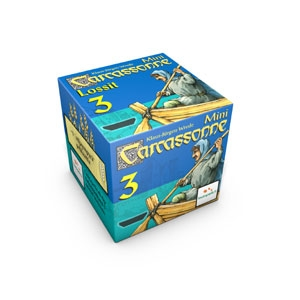Carcassonne Lossit (3rd mini expansion) (FIN)