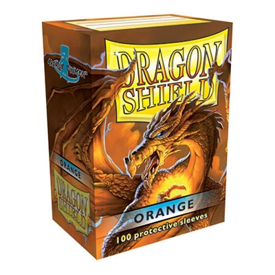 Dragon Shield orAnge 100pcs