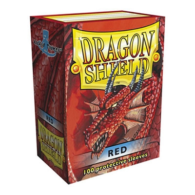 Dragon Shield Red 100pcs