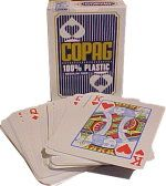 Playing cards, Copag, Regular face, Blue