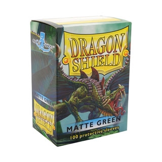 Dragon Shield Matte Green 100pcs
