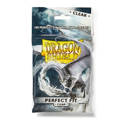 Dragon Shield Perfect Fit Clear 100pcs