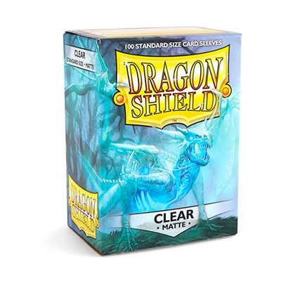 Dragon Shield Matte Clear 100pcs