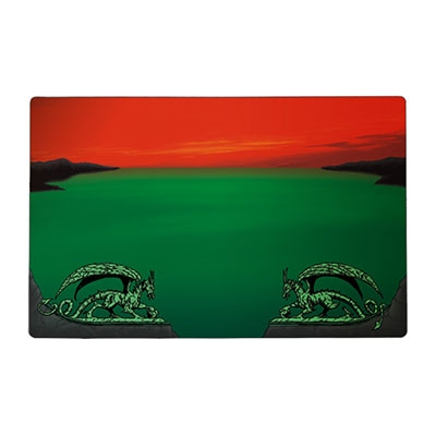 Dragon Shield Playmat Red Zone