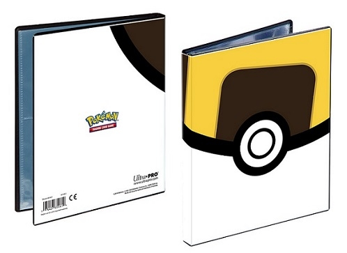Ultra Pro Pokemon 4-pocket Ultraball portfolio