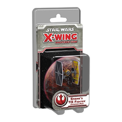 X-Wing - Sabines Tie Fighter