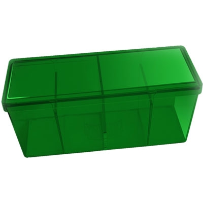 Dragon Shield - 4 Storage box: Green