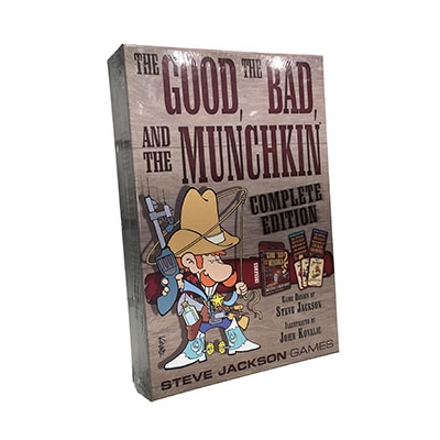 Munchkin, the Good, the Bad & the Complete edition