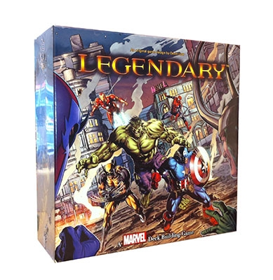 Legendary - A Marvel Deck Building Game