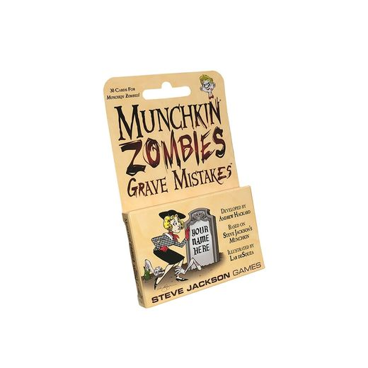 Munchkin Zombies: Grave Mistakes exp (ENG)