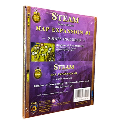 Steam map expansion 1 Belgium & Luxembourg